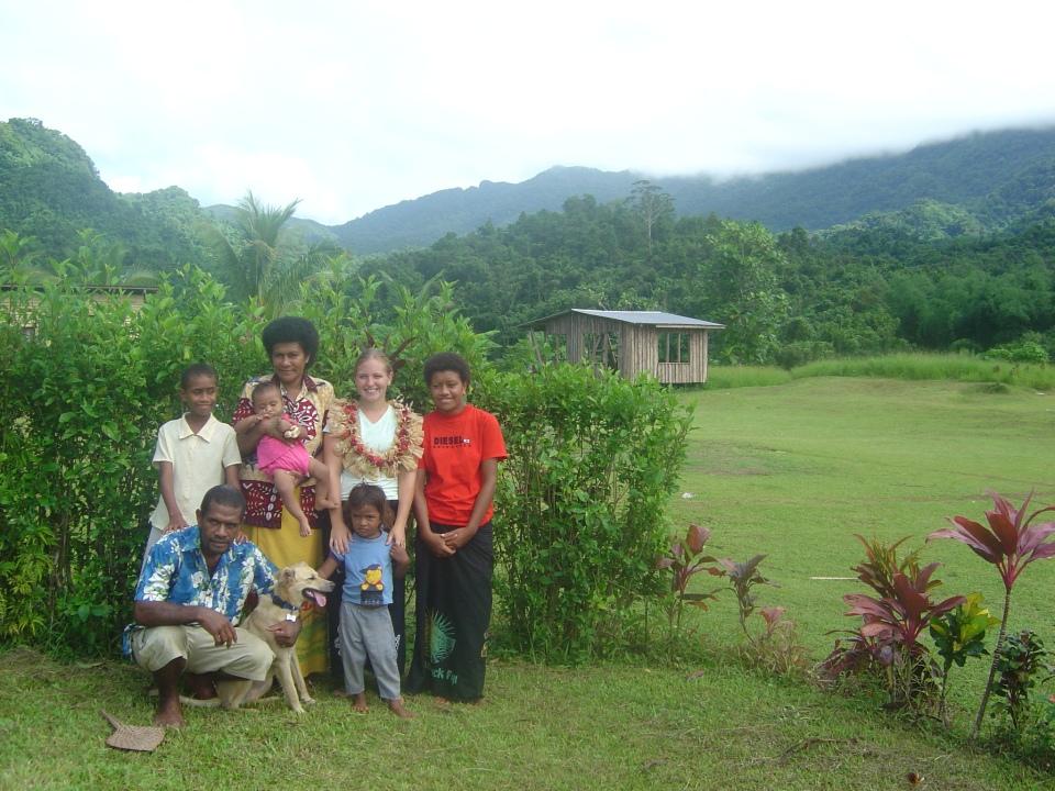 Waisali village, Vanua Levu, Fiji Islands