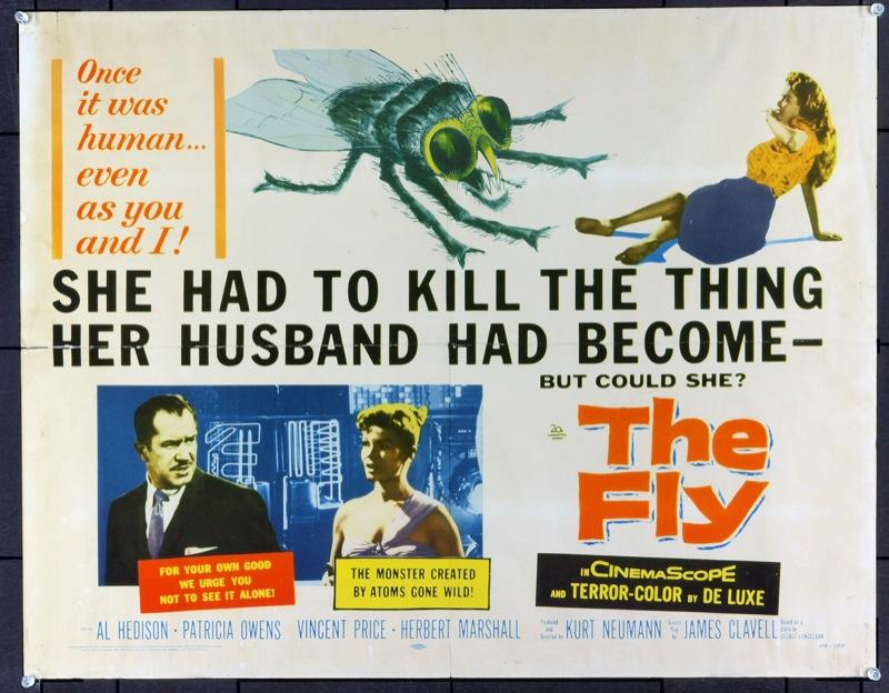 Kurt Neumann's The Fly (1958) film poster