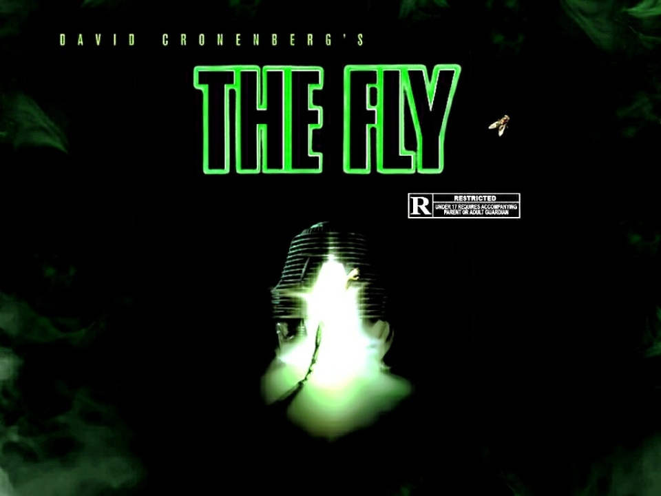 Daid Cronenberg's The Fly (1986) film poster