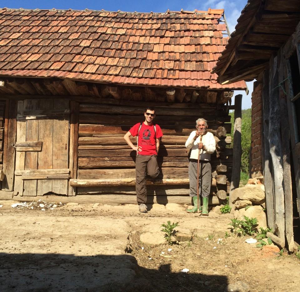 My husband, Viorel Popescu, with Gilu