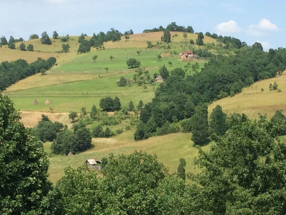 Traditionally maintained Landscape, Romania